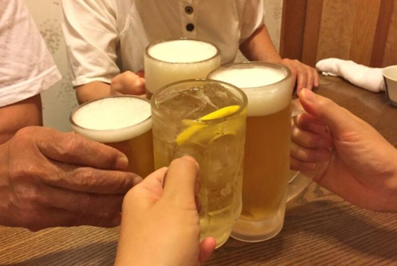 飲み放題メニュー