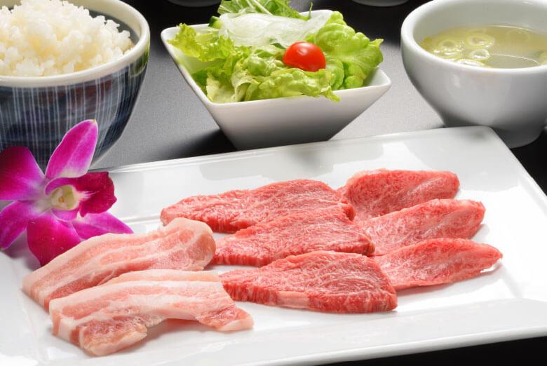 仙台牛焼肉ランチ
