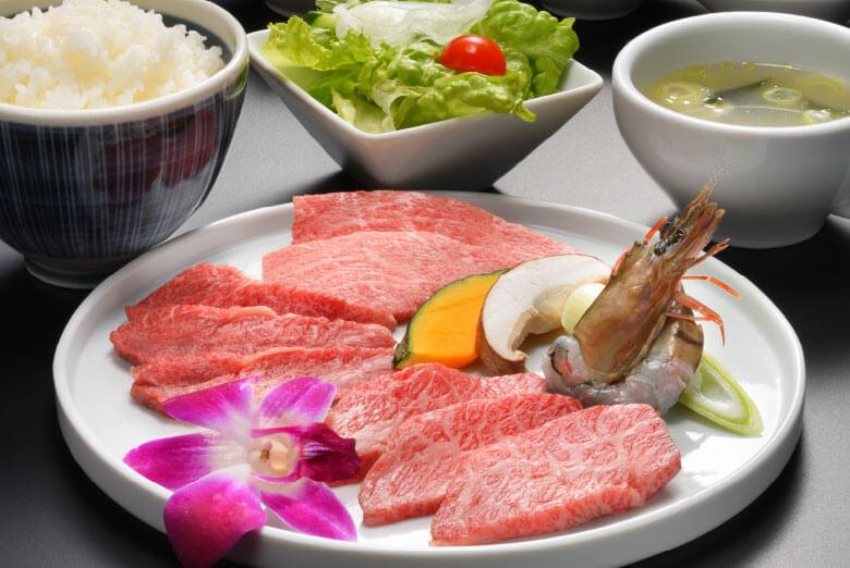 仙台牛上焼肉ランチ